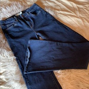Topshop Tally Moto flare jeans